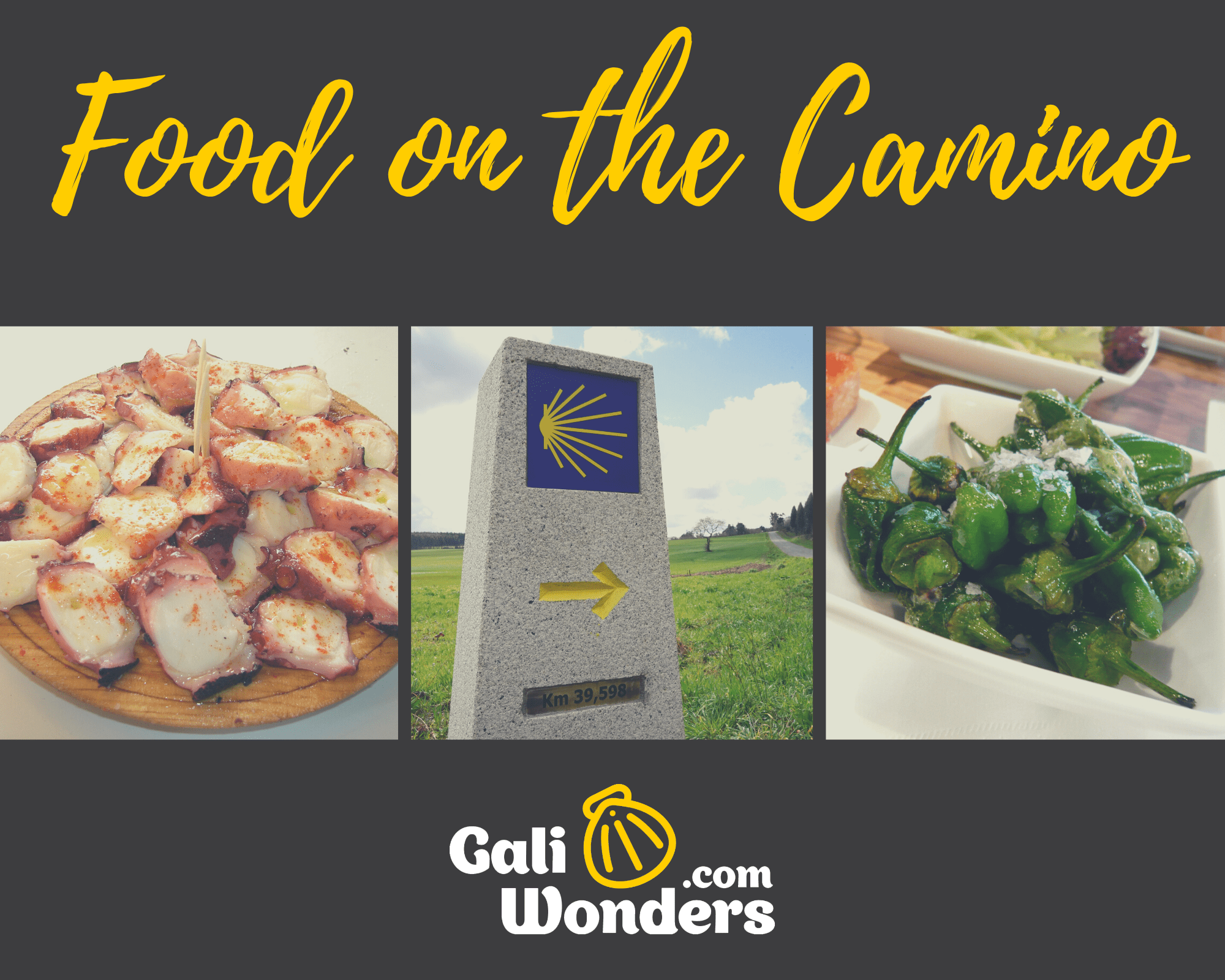 food on the camino
