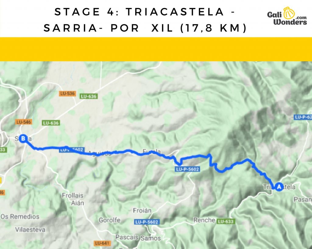 stage 4 triacastela