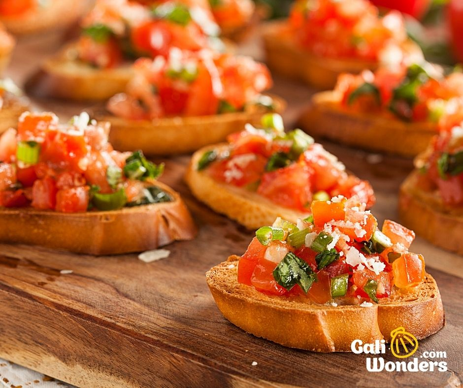 bruschetta italiana galiwonders